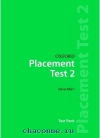 Oxford Placement Tests 2 Pack